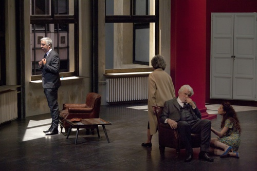 Le temps et la chambre, de Botho Strauss, mis en scène par Alain Françon