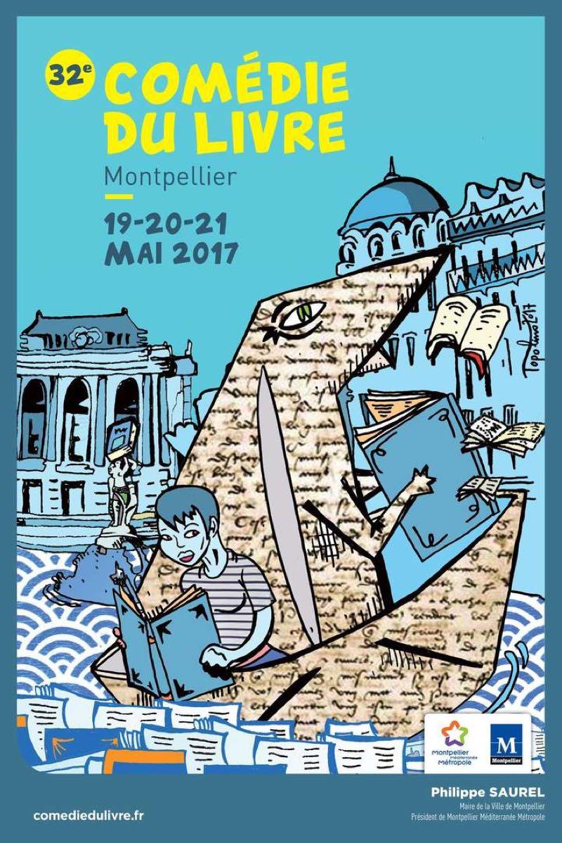 Comedie du livre 2017 Montpellier