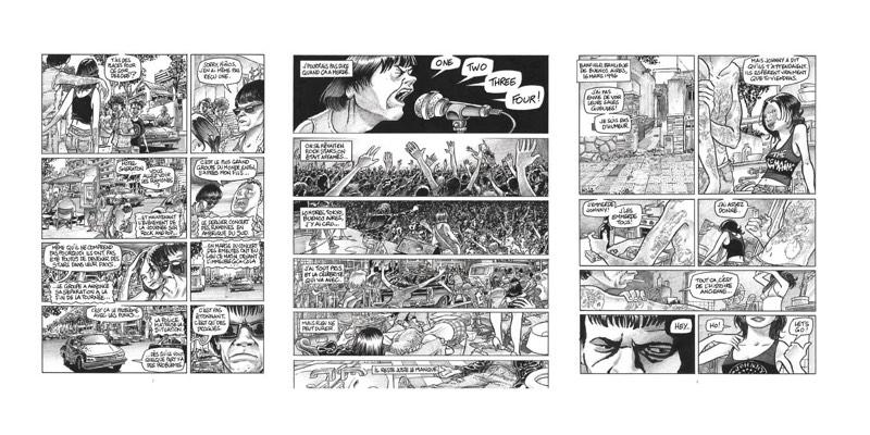Eric Cartier - Ramones - Editions Futuropolis
