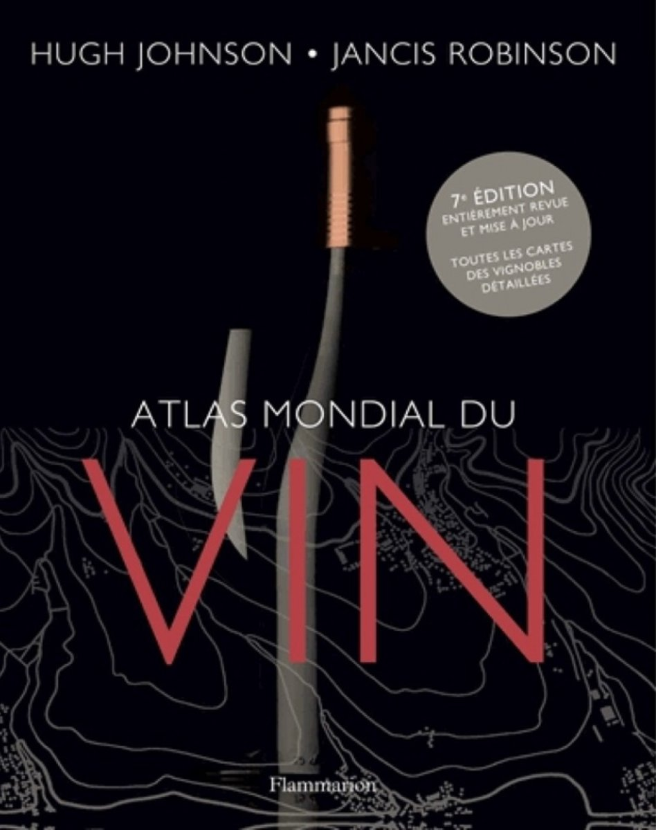 Atlas du Vin - Editions Flammarion
