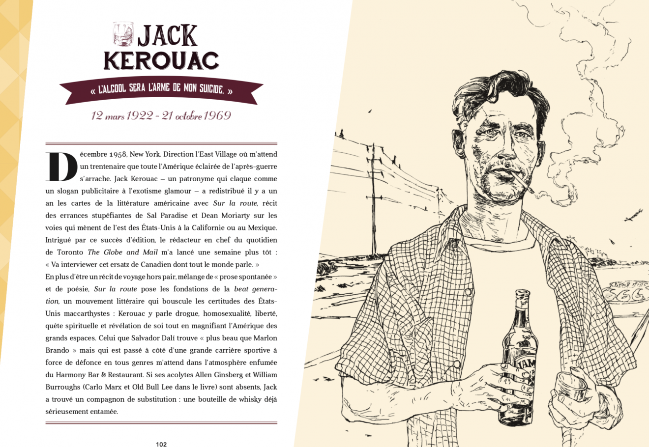 Jack Kerouac - TCHIN - Editions Jungle