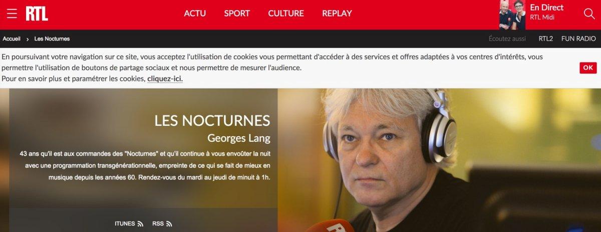 RTL - Capture d'écran du site RTL.FR