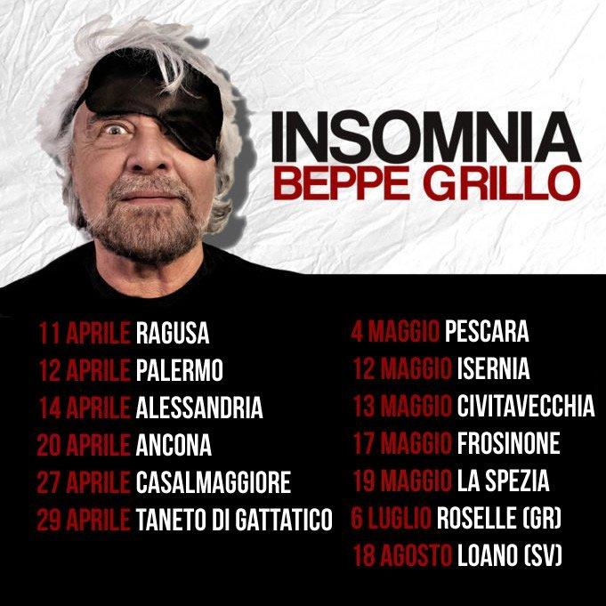 BEPPE GRILLO INTERVIEW EXCLUSIVE PUTSCH