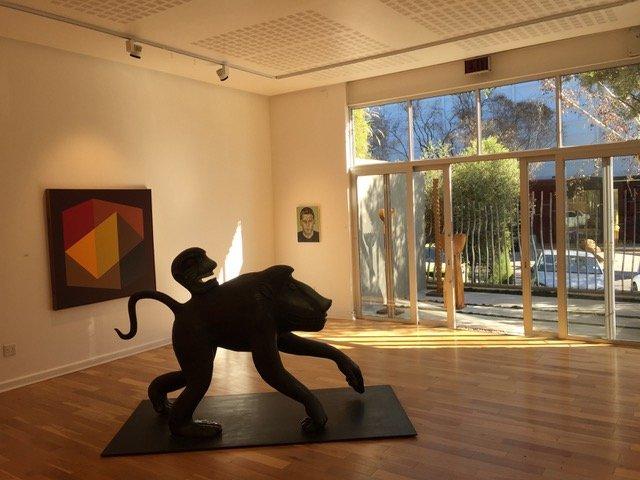 Everard Read, galerie privée d'art contemporain sud-africain à Johannesburg (© A. Apostolska)