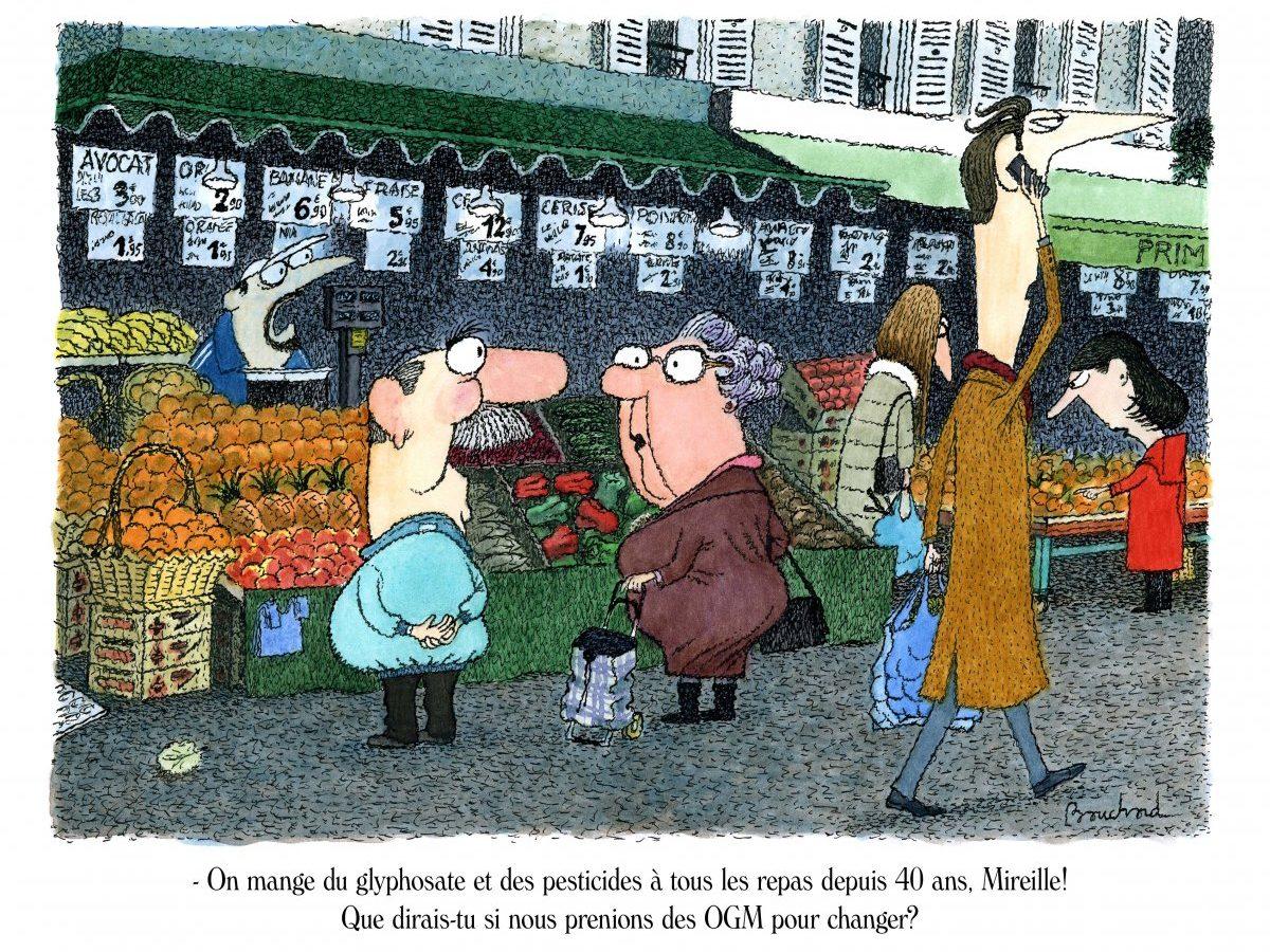Marché-OGM - André Bouchard