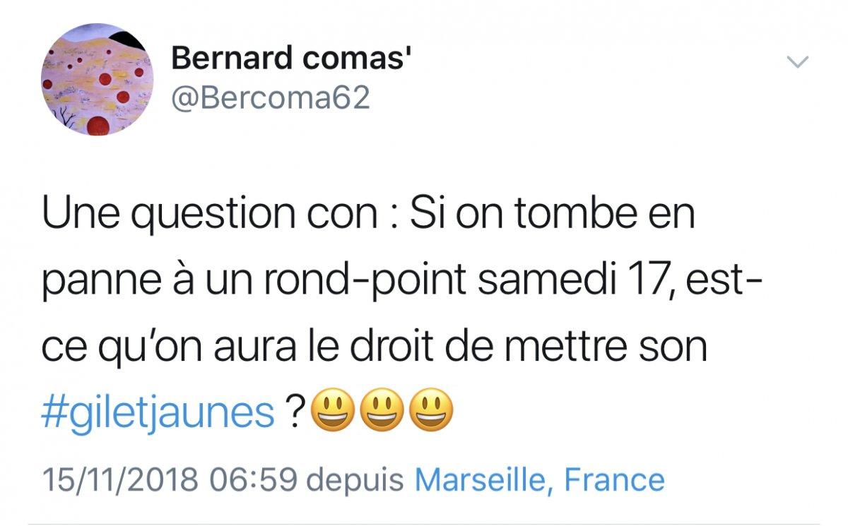 Les Gilets Jaunes Mobilisation Grogne Tweets Et Humour